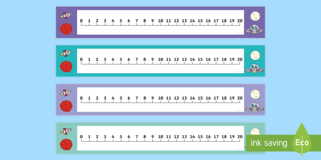 Numbers 1-20 Numbertrack (Space) - Maths, Math, number track, space, numbertrack, Counting, Numberline, Number line, Counting on, Counting back, moon, sun, earth, mars, ship, rocket, alien, launch, stars, planet, planets