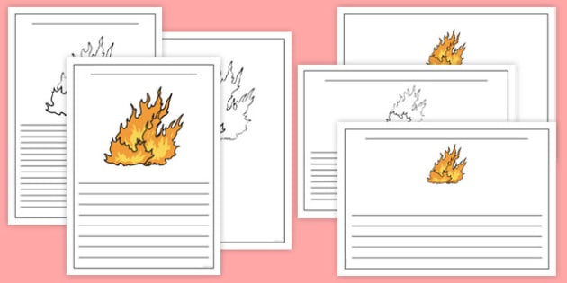 The Great Fire of London Flame Writing Frames - the great fire of london, writing frames, the great fire of london writing frames, writing templates, GFOL, grat fire of london, greatfireoflondon, greatn fire of london, fireof london, tempelte, paddin