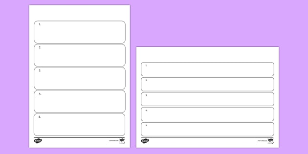 Editable Instruction Writing Frames  Editable Instruction