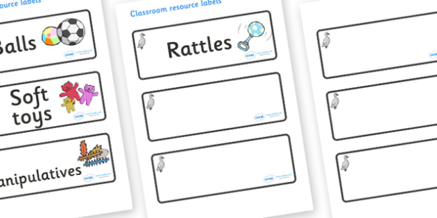 Cygnet Themed Editable Additional Resource Labels - Themed Label template, Resource Label, Name Labels, Editable Labels, Drawer Labels, KS1 Labels, Foundation Labels, Foundation Stage Labels, Teaching Labels, Resource Labels, Tray Labels, Printable l