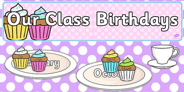 Editable Birthday Display Set Tea Party - birthday, display, tea party