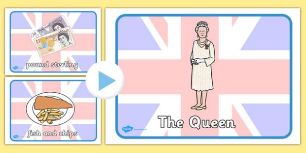 Being British Display Posters PowerPoint - british, display, posters
