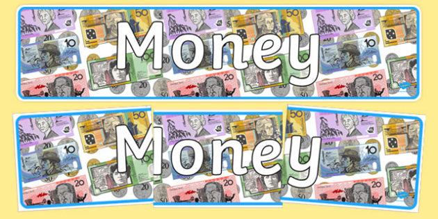 Money Display Banner - australia, money, display banner, display