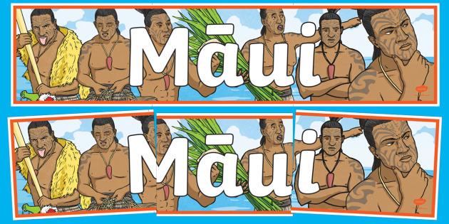 Māui Display Banner