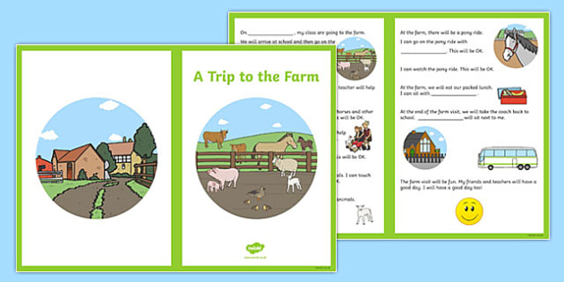 A Trip to the Farm Social Situation