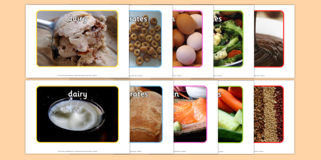 Food Groups Display Photos - food, display, food groups, photos, dairy, grains, protein, vegetable, fruit