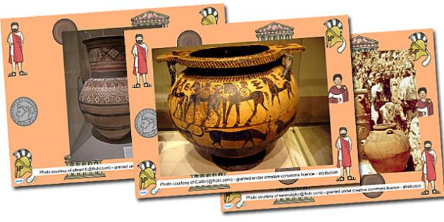 Greek Vase Photo PowerPoint - greek vases, vases, vases powerpoint, greek vases powerpoint, photos of greek vases, ancient vases, ancient vases powerpoint