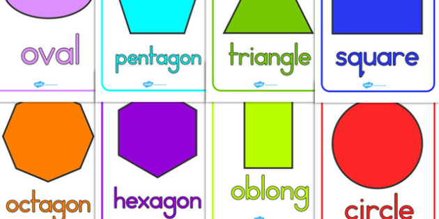 2D Shape Posters - 2D, shapes, 2D shapes, numeracy, maths display