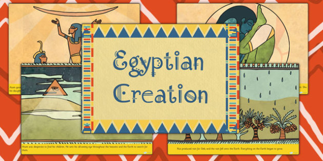 Ancient Egyptian Creation Story - ancient egypt, egypt, history