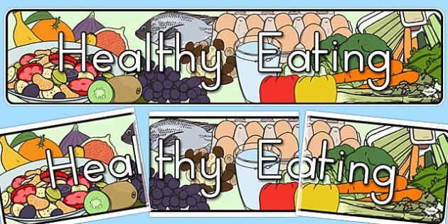 Healthy Eating Display Banner - australia, healthy, eating, display