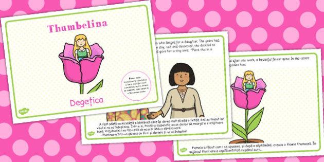 Thumbelina Story Romanian Translation - romanian, thumbelina