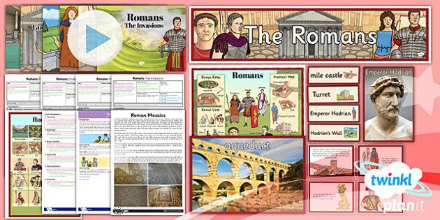 PlanIt - History LKS2 - Romans Unit Pack