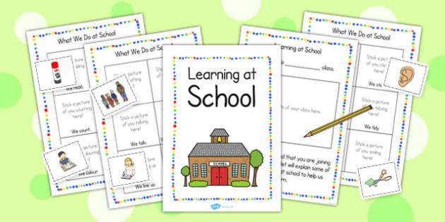 New EAL Starter Learning at School Booklet - EAL, new starter