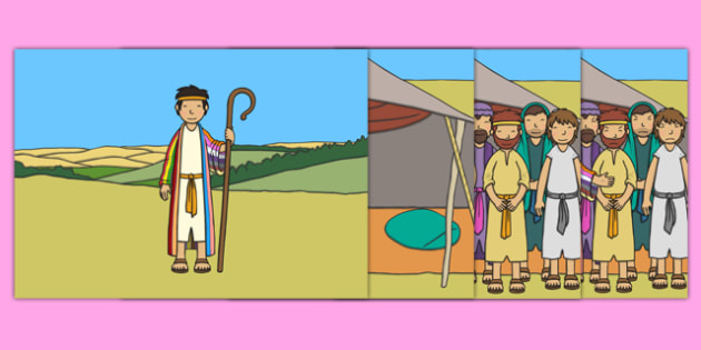Joseph Story Sequencing A4 - Joseph, coat, Jacob, bible story, bible, slave, brothers, sequencing, story sequencing, story resources, A4, cards, cupbearer, pharao, prison, cows, corn, dreams, Palace, Egypt, fat, thin