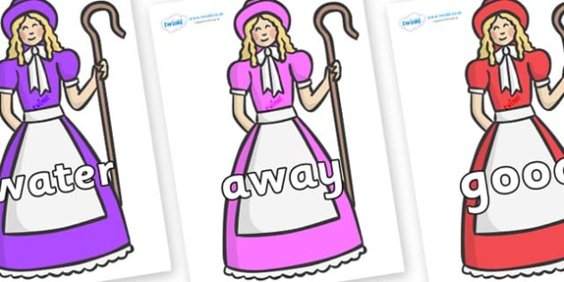 Next 200 Common Words on Little Bo Peep - Next 200 Common Words on  - DfES Letters and Sounds, Letters and Sounds, Letters and sounds words, Common words, 200 common words