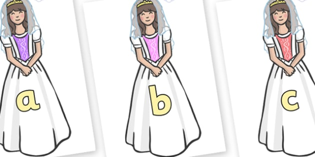Phase 2 Phonemes on Princesses - Phonemes, phoneme, Phase 2, Phase two, Foundation, Literacy, Letters and Sounds, DfES, display