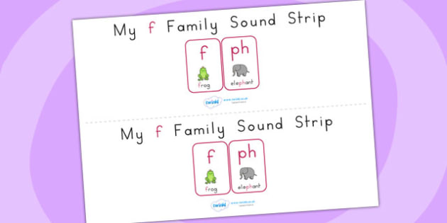 My f Family Sound Strip - sound, sound production, sound strip