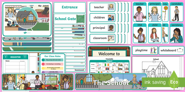 Aistear Pack The School Display Pack