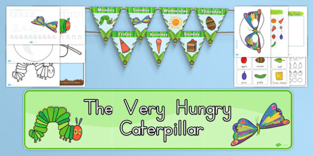 Kindergarten Resource Pack to Support Teaching on The Very Hungry Caterpillar - australia