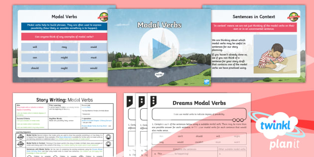 Explorers: Dreams and Anders Arnfield: Story Writing 2 Y6 Lesson Pack - modal verbs, dreams, discussion texts, argument text, debate language, blog, social media