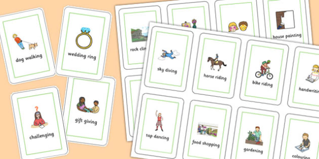 Three Syllable Final 'ng' Playing Cards - final ng, sound, playing cards