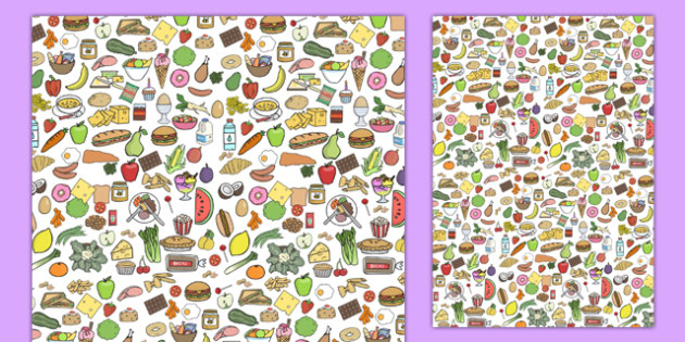 Food Theme A4 Sheets - food, food theme images, food display background, food display, A4 food sheet, food sheets, food theme sheets, food theme pages