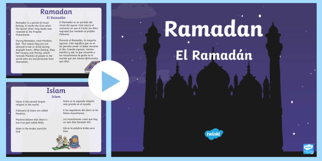 ramadan information powerpoint us englishspanish latin