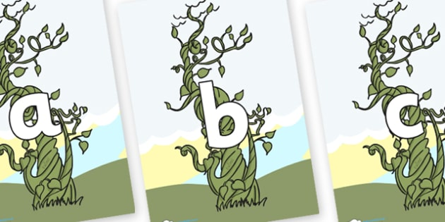 Phoneme Set on Beanstalk - Phoneme set, phonemes, phoneme, Letters and Sounds, DfES, display, Phase 1, Phase 2, Phase 3, Phase 5, Foundation, Literacy