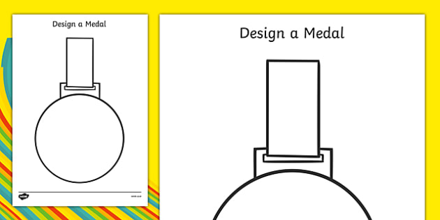 Design a Medal - Olympics, Olympic Games, sports, Olympic, London, 2012, design, draw, create, design your own medal, Olympic torch, flag, countries, medal, Olympic Rings, mascots, flame, compete, tennis, athlete, swimming, race,