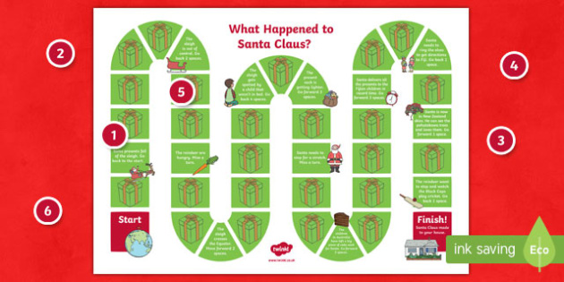 What Happened to Santa? Board Game New Zealand