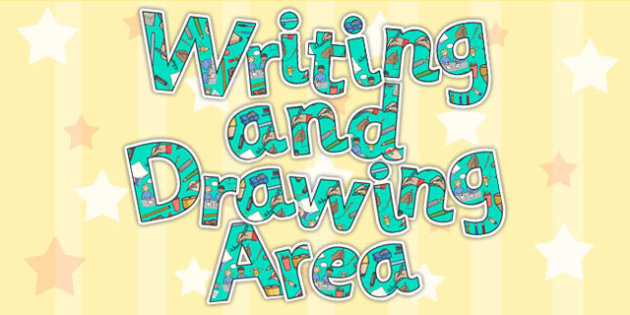 Writing And Drawing Display Lettering - write, draw, letters