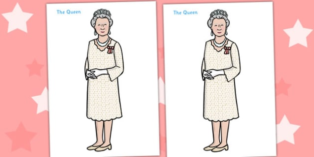 Full Body Queen Display Poster - Queen, Elizabeth, royal, family, poster, display, sign, Prince philip, monarchy, monarch