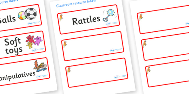 Parrot Themed Editable Additional Resource Labels - Themed Label template, Resource Label, Name Labels, Editable Labels, Drawer Labels, KS1 Labels, Foundation Labels, Foundation Stage Labels, Teaching Labels, Resource Labels, Tray Labels, Printable l