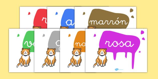 Pósters de colores - colores