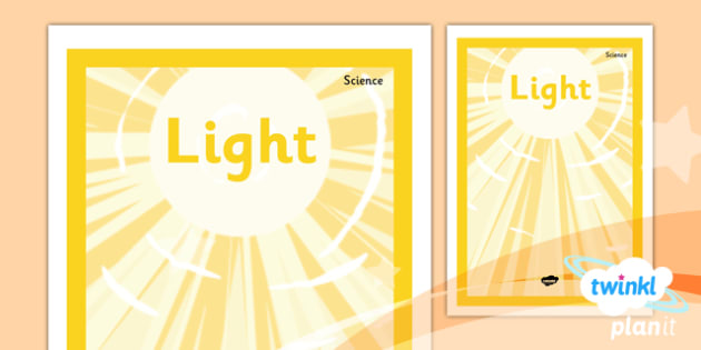Science: Light Year 3 Unit Book Cover