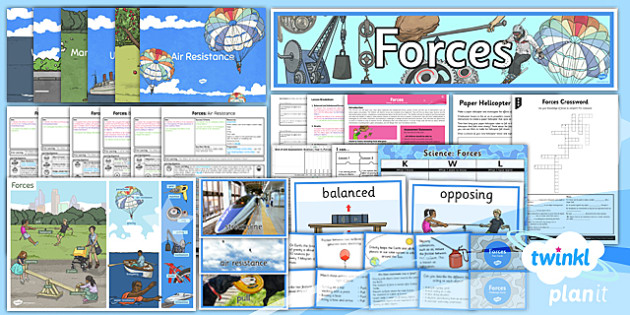 Science: Forces Year 5 Unit Pack