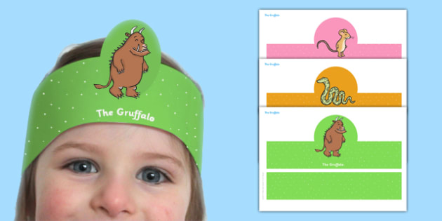 The Gruffalo Role Play Headbands - stories, roleplay, prop, story