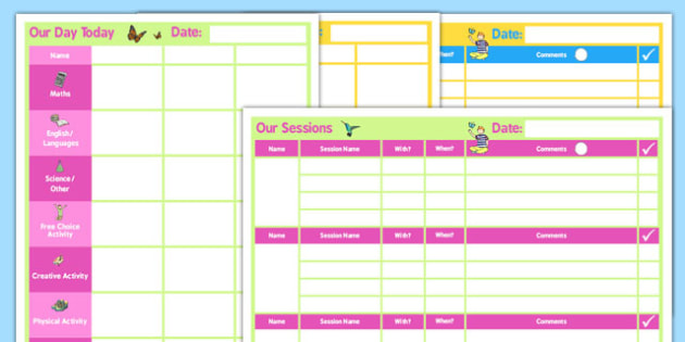 SEN Daily 3 Child Home Educator Planner - home educator, planner