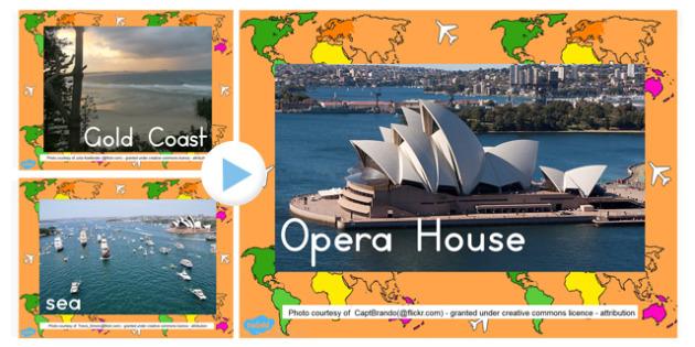 Aerial Photo PowerPoint - australia, aerial, photo, powerpoint