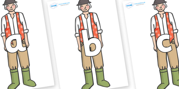 Phoneme Set on Farmer to Support Teaching on Pig in the Pond - Phoneme set, phonemes, phoneme, Letters and Sounds, DfES, display, Phase 1, Phase 2, Phase 3, Phase 5, Foundation, Literacy