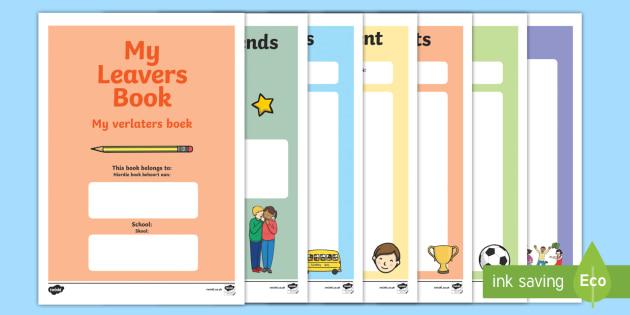 School Leavers Scrapbook English/Afrikaans - School Leavers Scrapbook - school leavers, leavers, school, scrapbook, scrapbooking, photo, photos,