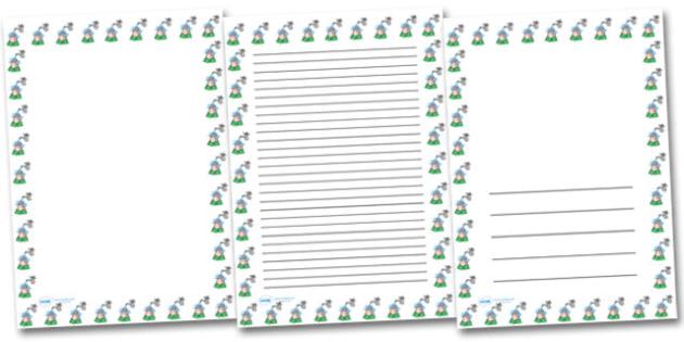 Wash Hands Portrait Page Borders- Portrait Page Borders - Page border, border, writing template, writing aid, writing frame, a4 border, template, templates, landscape