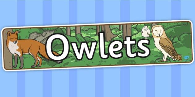 Owl Display Banner - owl, display banner, display, banner, story