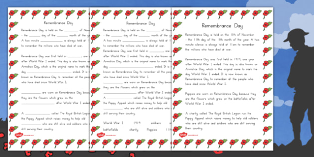 Remembrance Day Quiz Sheet - australia, remembrance day, quiz