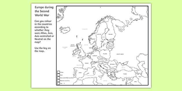 KS2 World War Two Primary Resources KS2 World War  Page 1