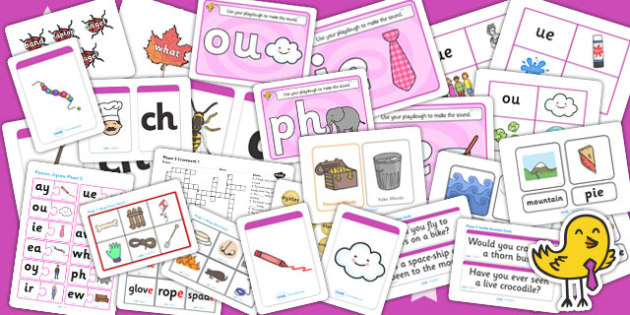 Phase 5 Activity Pack - phase, phase 5, phase five, activity pack