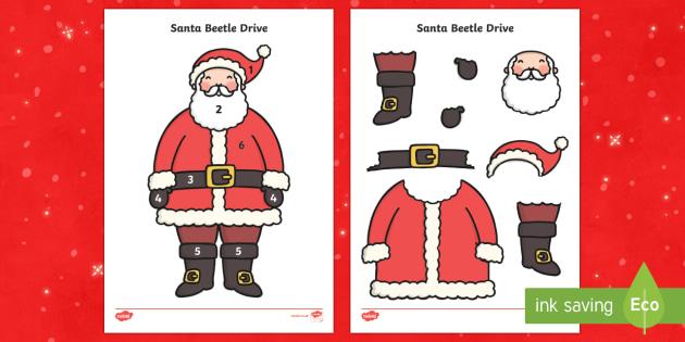 Santa Beetle Drive Game