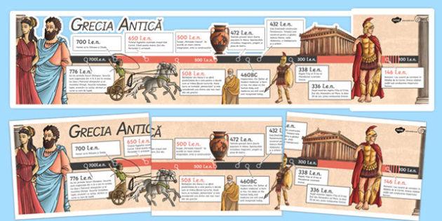 Grecia Antică - Cronologie
