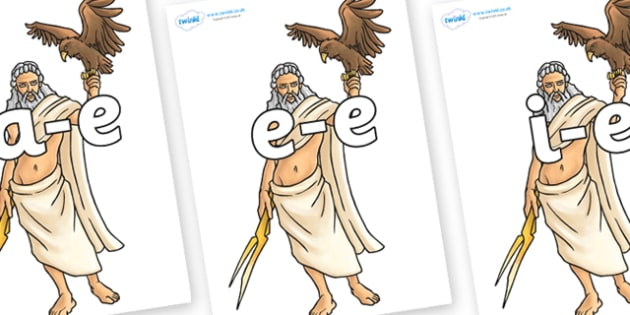 Modifying E Letters on Zeus - Modifying E, letters, modify, Phase 5, Phase five, alternative spellings for phonemes, DfES letters and Sounds