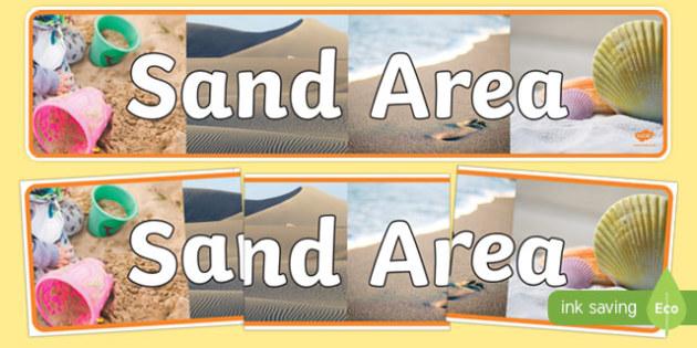 Sand Area Photo Display Banner - sand area, display, photo banner, banner, display banner, display header, themed banner, photo display, photo header